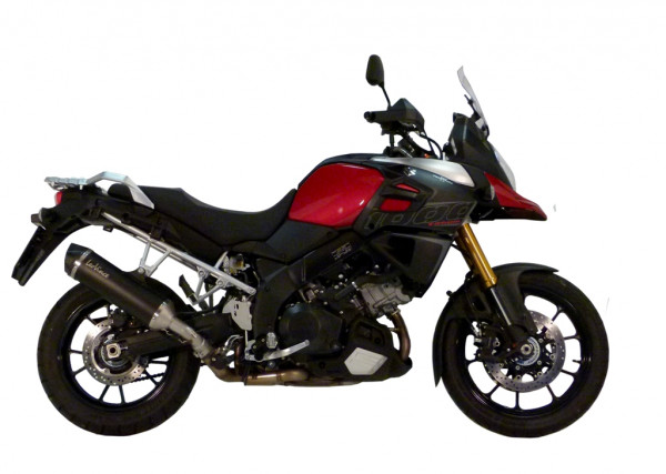 Auspuff Leovince Nero Suzuki DL 1000 V Strom Bj 2014 bis 2016