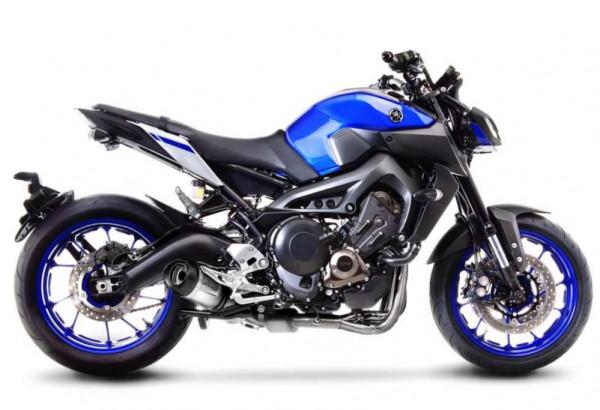 Auspuff Leovince Evo KAT Yamaha MT 09 SP Tracer XSR 900 Bj 2016 bis 2018