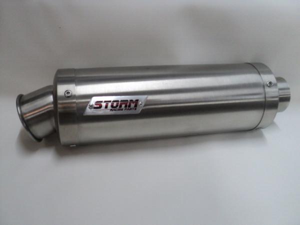 Auspuff Storm GP rund 300 mm KAT KTM RC 390 Bj 2014 bis 2016
