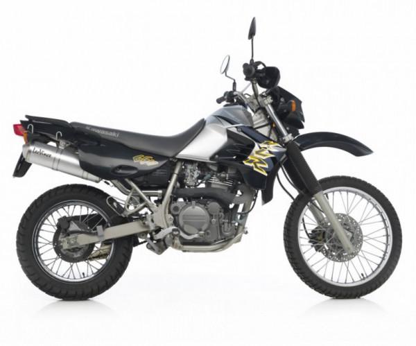 Auspuff Leovince X3 Kawasaki KLR 650 Baujahr 1997 bis 2016