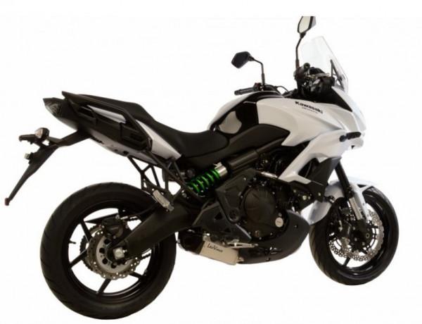 Auspuff Leovince Underbody KAT Kawasaki Versys 650 Bj 2015 bis 2016