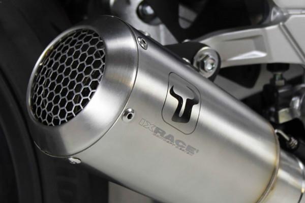 Auspuff Ixil IXRACE MK2 rund KTM Duke 125 Bj 2017 bis 2020