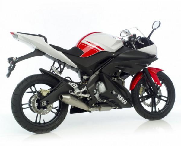Auspuff Leovince GP Style KAT Yamaha YZF 125 R Bj 2008 bis 2013