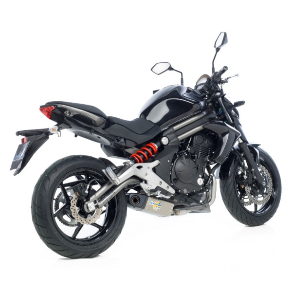 Auspuff Leovince Underbody KAT Kawasaki ER 6 N ER 6 F Bj 2012 bis 2016