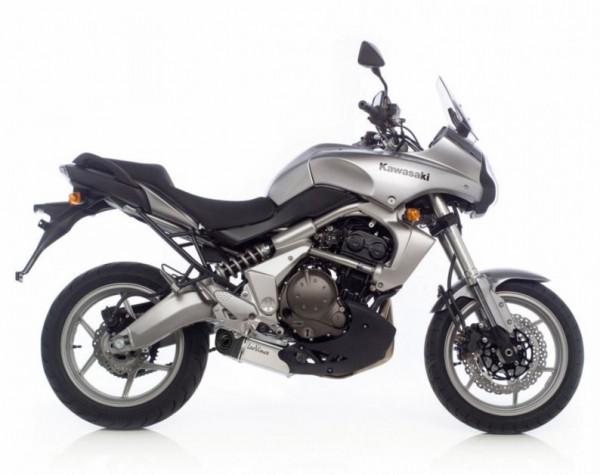 Auspuff Leovince Underbody KAT Kawasaki Versys 650 Bj 2007 bis 2014