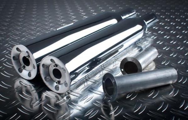 Auspuff Eagle M7 Sidewinder Straight Cut Suzuki VS 1400 Intruder