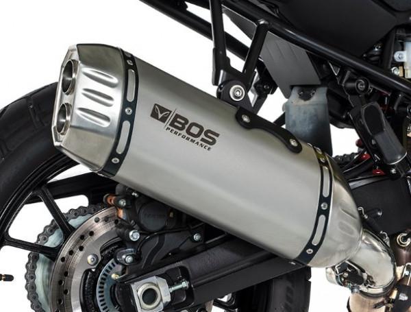 Auspuff BOS Desert Fox KTM 1050 Adventure Bj 2015 bis 2016